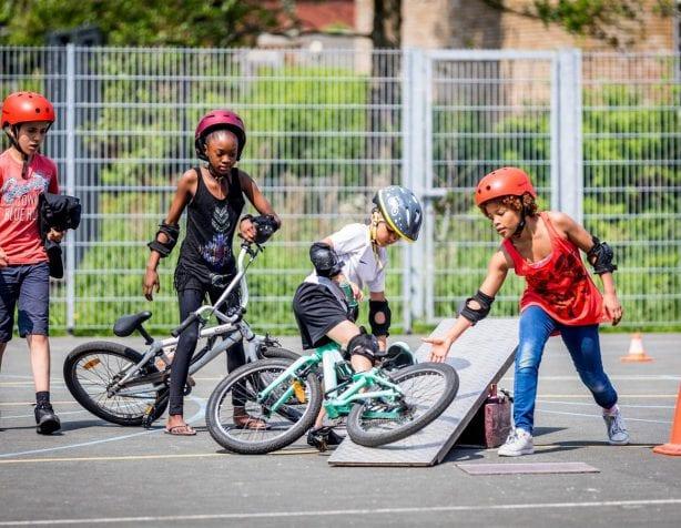 Elk kind een fiets